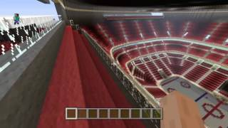 Minecraft: Ottawa Senators Canadien tire Centre tour