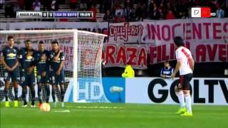 River Plate 2 Liga de Quito 0 - Copa Sudamericana 2015 - RESUMEN HD