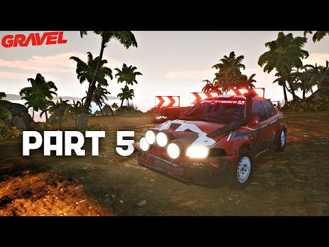 Gravel Career Mode Walkthrough Episode 5 - SANDS OF NAMIBIA | PS4 Pro Gameplay