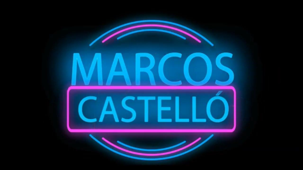 Marcos Castello Kaniche - Te hubieras ido antes │ Video Lyric │ LETRA 2020