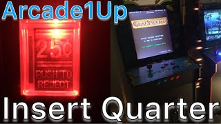 Add X-Arcade Coin Door to an Arcade1up Arcade Cabinet - Complete Detailed Instructions for Coin only