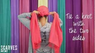 How to Tie a Head Scarf: Twist & Shout