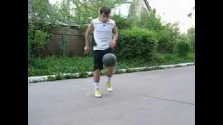 футбольные финты (трюки с мячом) football freestyle