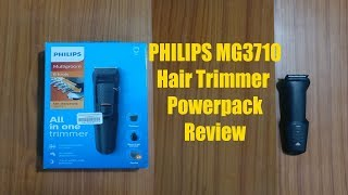 Philips MG3710 Multigroom Hair Trimmer Review - How to use Philips MG3710 Hair Trimmer?