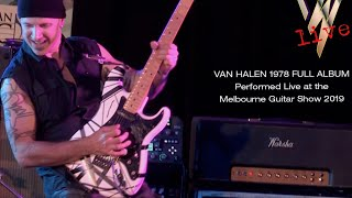 VAN HALEN 1978 full album HD - performed at Melbourne Guitar Show 2019 - SIMON HOSFORD
