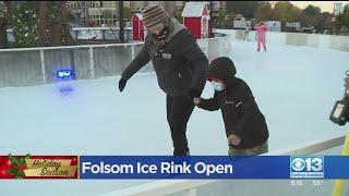 Folsom Ice Rink Opens