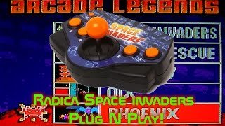 Radica Space Invaders Plug N Play!
