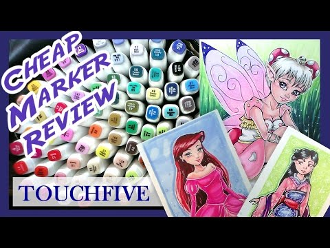 TOUCHFIVE Marker Review (Cheap Copic Alternative)