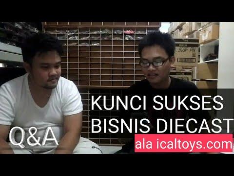 PART 1 Q&A BARENG ICALTOYS - KUNCI SUKSES BISNIS DIECAST ALA ICALTOYS