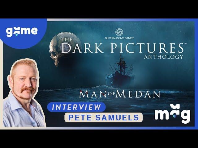 Man of Medan - Interview Pete Samuels - Gamescom 2019