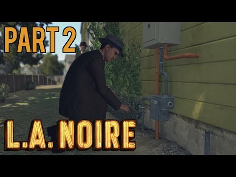 Pipe Fitter (L.A. Noire - Playthrough - PC - Part 2)