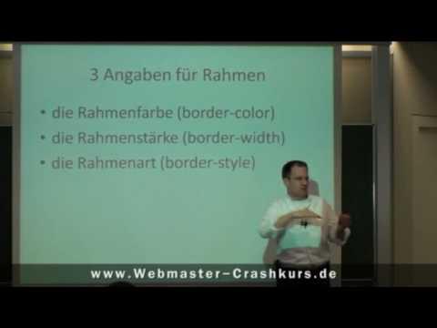Rahmen In CSS Erstellen