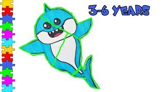 Wrong Puzzle Baby Shark, Daddy Shark, Mommy Shark. Fun game for Kids. | Mom4KidsTv