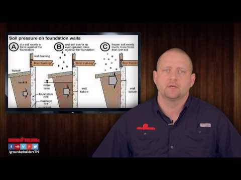 Tip of the week - Grading around your home.