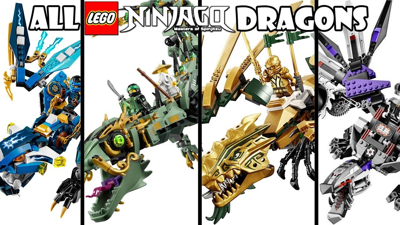 Lego Ninjago Dragon ALL LEGO NINJAGO DRAGO...