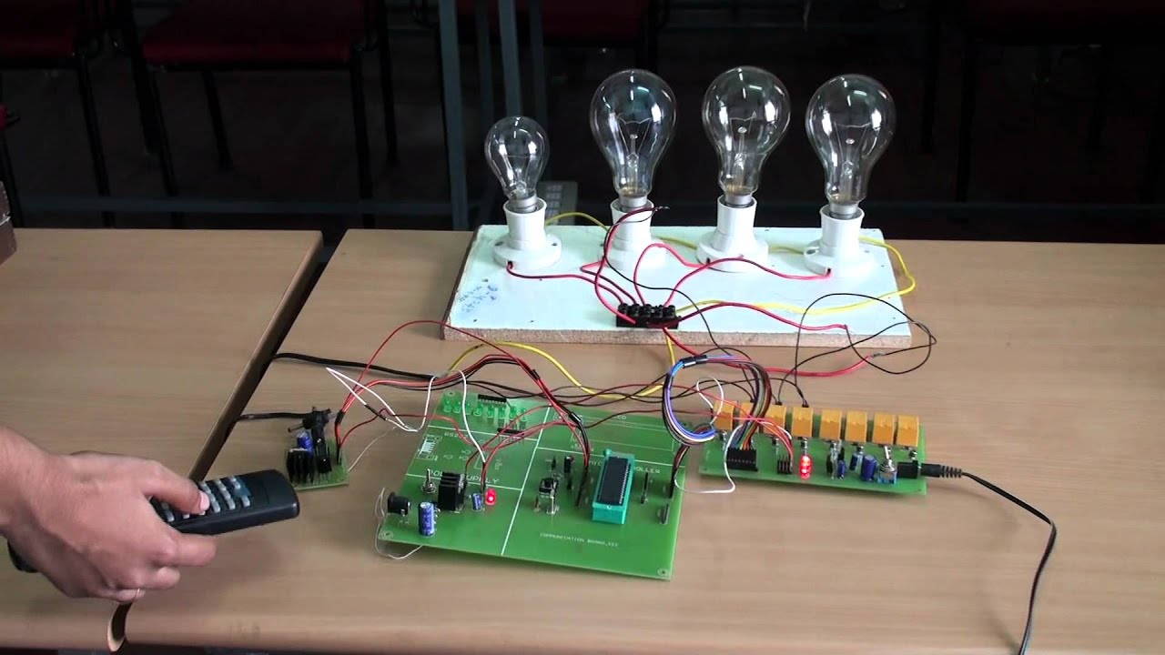 Griet Eee Projects 11 Control Of Electrical Appliances Using