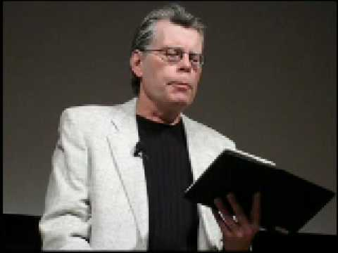 "Horror Master Stephen King Reads ""Ur""  on an Amazon Kindle 2"