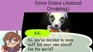 Save Game - Animal Crossing (GC)