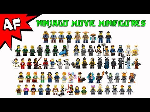 Lego Ninjago Movie Minifigures 2017 Complete Collection streaming vf