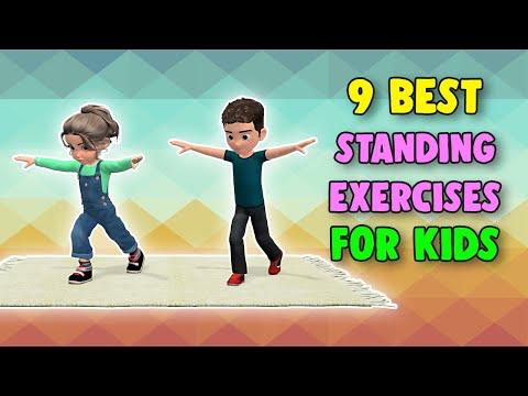 9 Best Standing Exercises For Kids