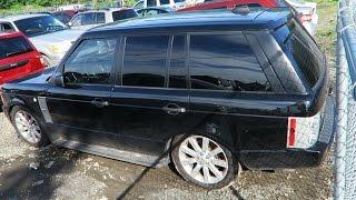 Заброшенный Range Rover на Аукционе в Америке