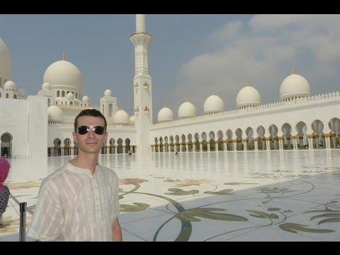 Vlog: L' Immensa Moschea Bianca...Sheikh Zayed Mosque in Abu Dhabi