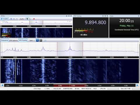 11 05 2018 Radio Cairo in Hausa, instead of French to WeEu 2000 on 9894,8 Abis