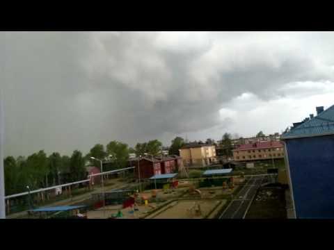 Ураган в Верхней Туре  Урал