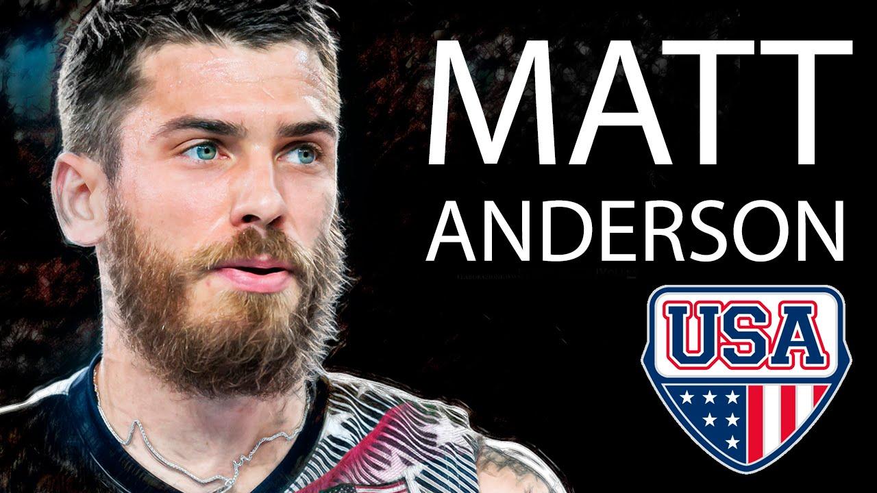 Matt Anderson: Best Spikes: FIVB 2016 - YouTube