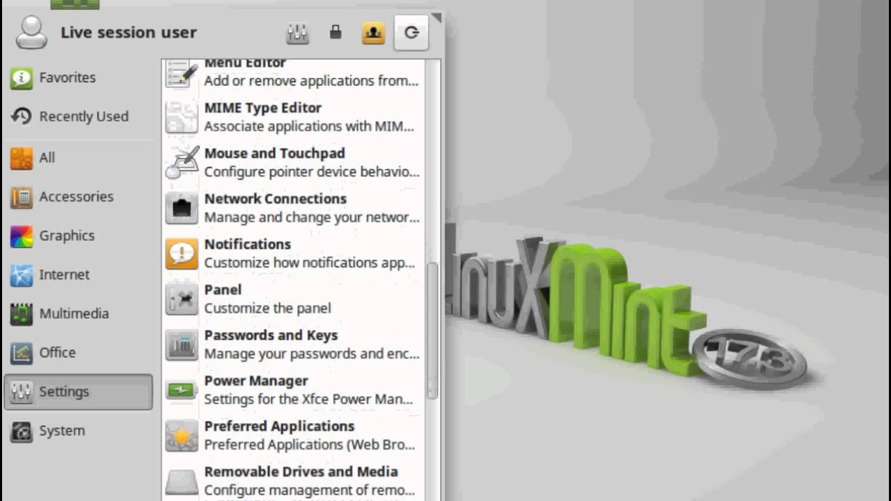 Linux mint 17 3 rosa xfce edition