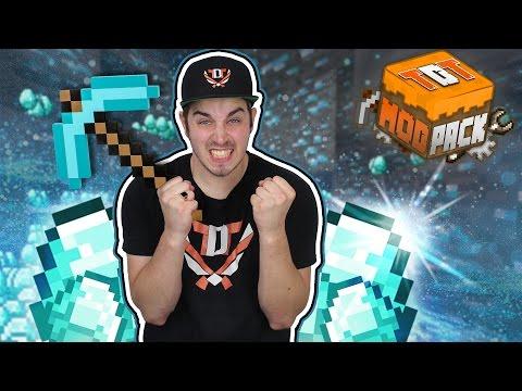 SUPER VEEL DIAMONDS!! - Minecraft TDT MODPACK S2 #8