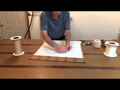 How To Make A Ribbed Roman Shade