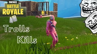 Fortnite Saison 4 [Trolls & Kills] [Skin Mc.Gim's]