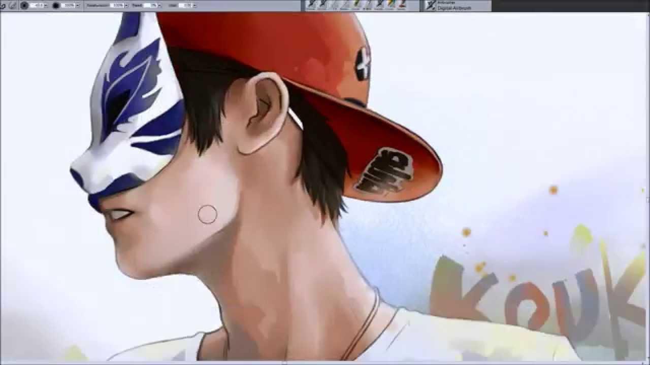 21%的繪圖日誌 - 阿神Kouki with a mask - YouTube