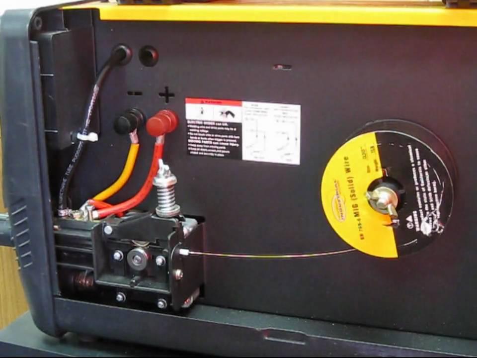 stick welding machine setup