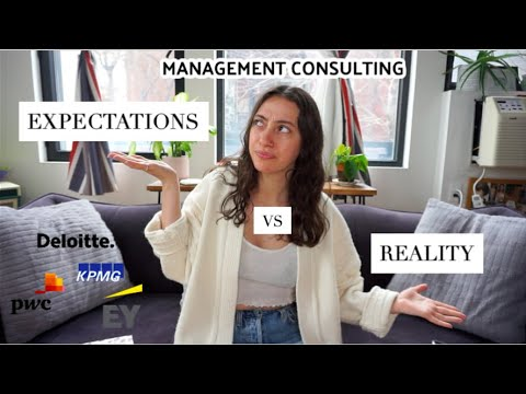 Management Consulting Expectations vs Reality! (Big 4) | What it's really like being a consultant...