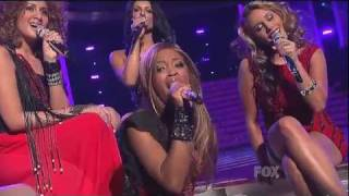 Top 13 Girls - Beyonce Medley - American Idol Season 10 Finale Results Show - 05/25/11