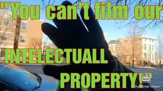 "PRIVATE COMPANY- ""YOU CANT FILM IN PUBLIC!"" POLICE ADMIT WORKING FOR PRIVATE COMPANY?"
