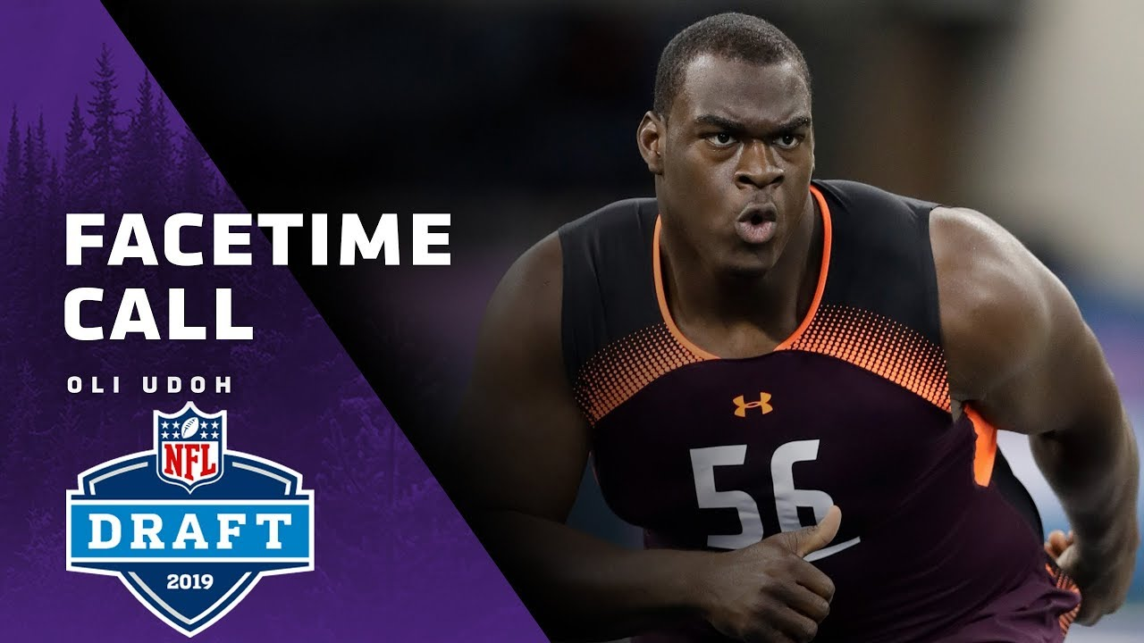 new style 1d44f a48dd Oli Udoh Details His Strength As A Pass-Blocker, His Path To The NFL |  Minnesota Vikings