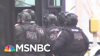 Jersey City Shooting Leaves Officer Shot In Head | MSNBC