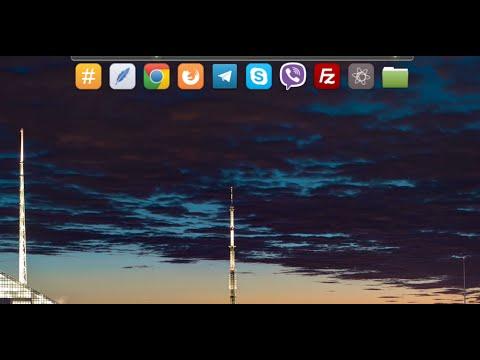 Установка простого дока Plank на Linux Mint 18. Настройки и использование.