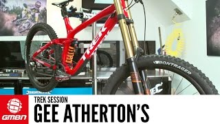 Gee Atherton's Trek Session