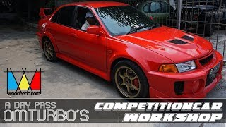 a day visit to omturbo, indonesia's competition car builder workshop