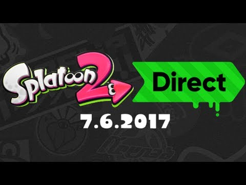 Splatoon 2 Direct - 7.6.2017 | LIVE Reactions With Abdallah!