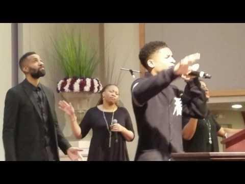 15yr old Caleb Carroll singing Cover of