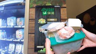 Salad Vending Machine