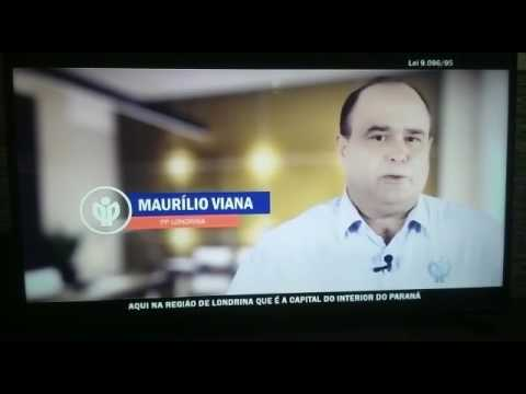 Manoel Ribas: Maurílio Viana no programa eleitoral do PP