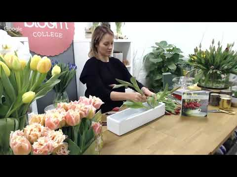 Foam Free Flower Arranging - Bloom TV LIVE 30/5/16
