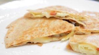 Delicious Low-calorie Artichoke Quesadilla - Let's Cook With Modernmom