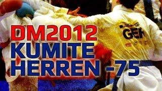 DM KARATE 2012 DKV Kumite Herren -75KG Noah Bitsch vs. Andreas Bachmann